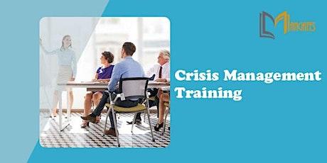 Crisis Management 1 Day Training in Geneva billets