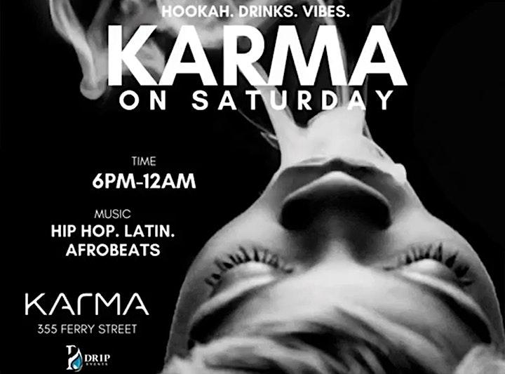 KARMA SATURDAYS |6PM-12AM image
