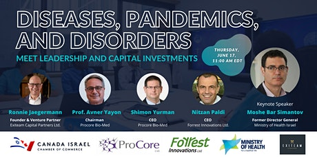 Diseases, Pandemics, and Disorders Meet Leadership and Capital Investments tickets