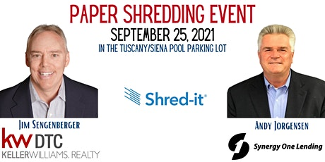 Siena-Tuscany Paper Shredding Event tickets