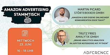 Digitaler Amazon Advertising Stammtisch| no.10 Tickets