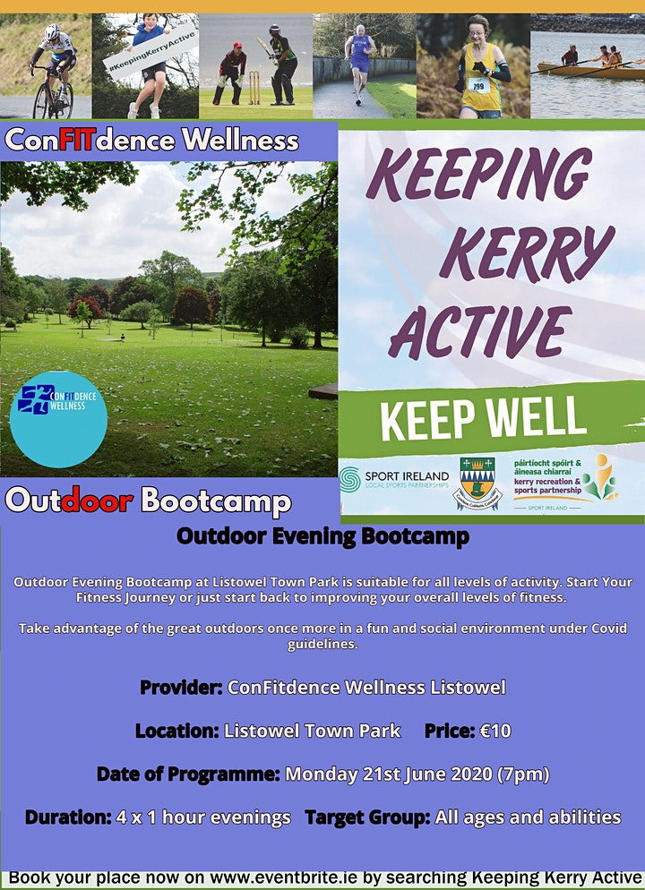 Keeping Kerry Active - Outdoor Bootcamp (Listowel) image