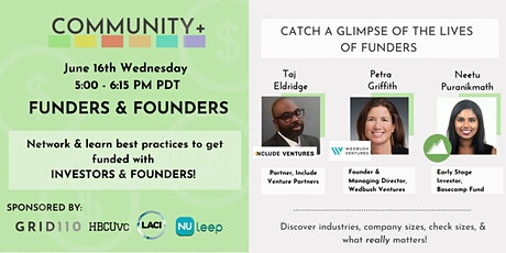 Funders & Founders tickets
