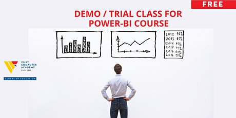 Demo / Trial Class for POWER-BI Course tickets