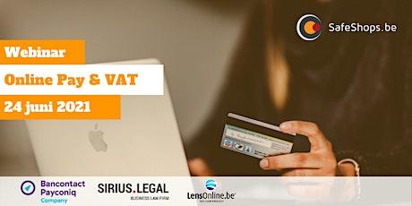 Webinar: Online Pay & VAT tickets