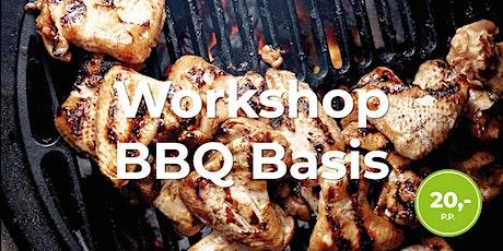 Workshop BBQ Basis tickets