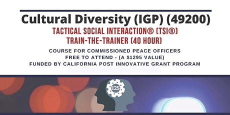 Cultural Diversity - TSI® Train-the-Trainer - Palm Springs 2021 tickets