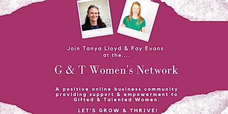 G  & T Women's Network July Meeting tickets