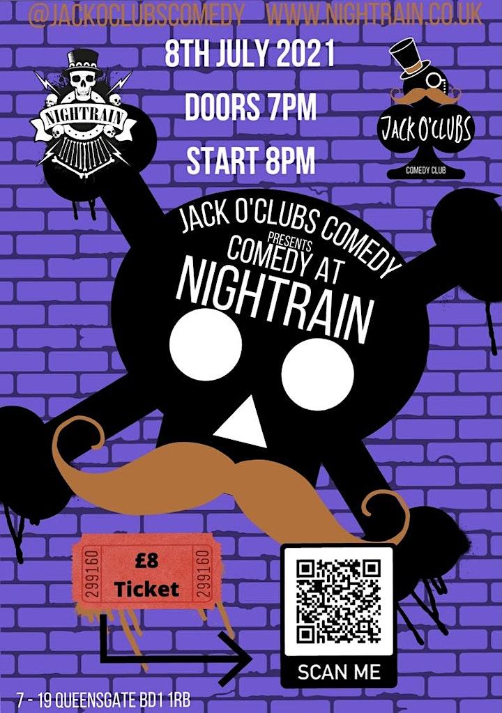 Jack O'Clubs Comedy Night at Nightrain image