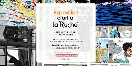 Le mouvement : exposition d'art à La Ruche billets