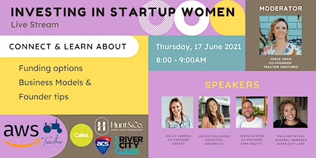 Investing in Women: Funding options and best businesses models - Livestream tickets