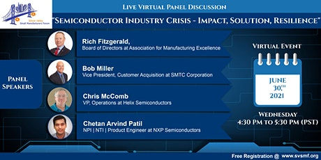 Semiconductor Industry Crisis - Impact, Solution, Resilience biglietti