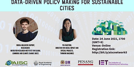 Data-driven policy making for sustainable cities tickets