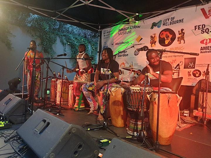 Jama Band -  Dining Experience  + Live Music image