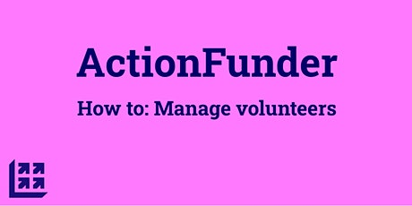 How to: manage volunteers tickets