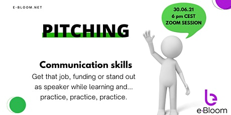 Learn and practice your professional pitch to introduce yourself tickets