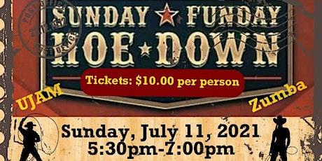 Sunday Funday Cardio Dance Party Hoedown (U-Jam and Zumba) tickets