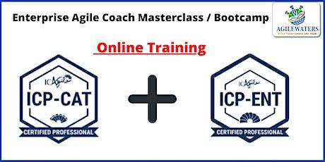 Enterprise Agile Coach Masterclass / Bootcamp billets