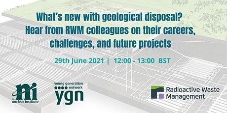 What's new with geological disposal? tickets