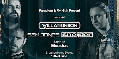 Paradigm Presents Sneijder + Sam Jones + Will Atkinson tickets