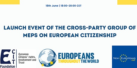 Launch event of the Cross-party group of MEPs on European citizenship tickets