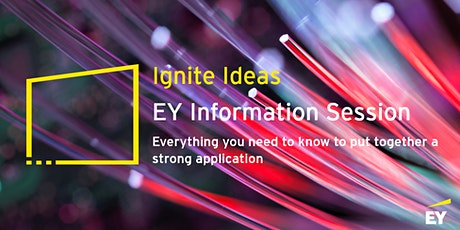 EY Ignite Ideas 101 - What you need to know tickets