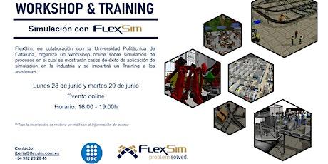FlexSim Workshop y Training en la UPC entradas