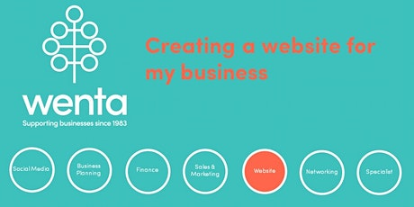 Creating a website for my business - Stevenage tickets