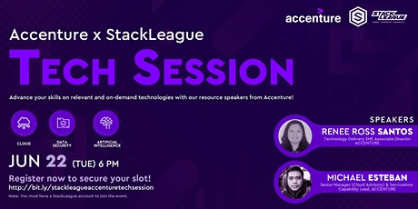 StackLeague x Accenture Tech Session tickets