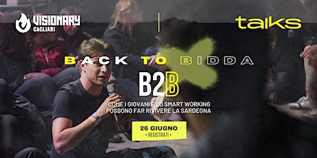 Visionary Cagliari Talks - Back To Bidda biglietti