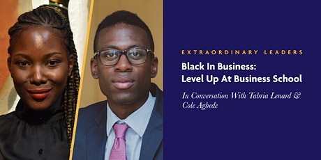 Black in Business: Level Up at Business School tickets