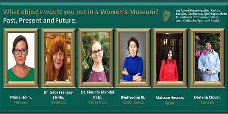 What objects would you put in a Women's Museum?  Past, Present and Future. tickets
