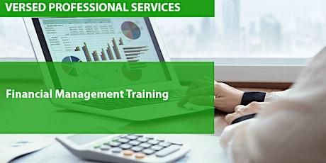 Financial Management Training tickets