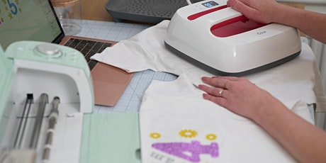 Iron - on / HTV Live Workshop (For Maker or Explore or Cricut Joy) tickets
