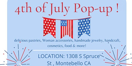 4th of July Pop-up! tickets