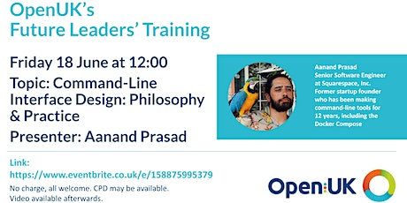 Command-Line Interface Design - Future Leaders Training tickets