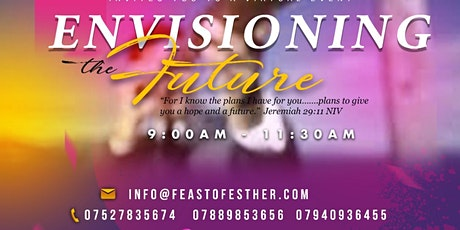 Feast of Esther UK Virtual Conference - June 26th, 2021 tickets