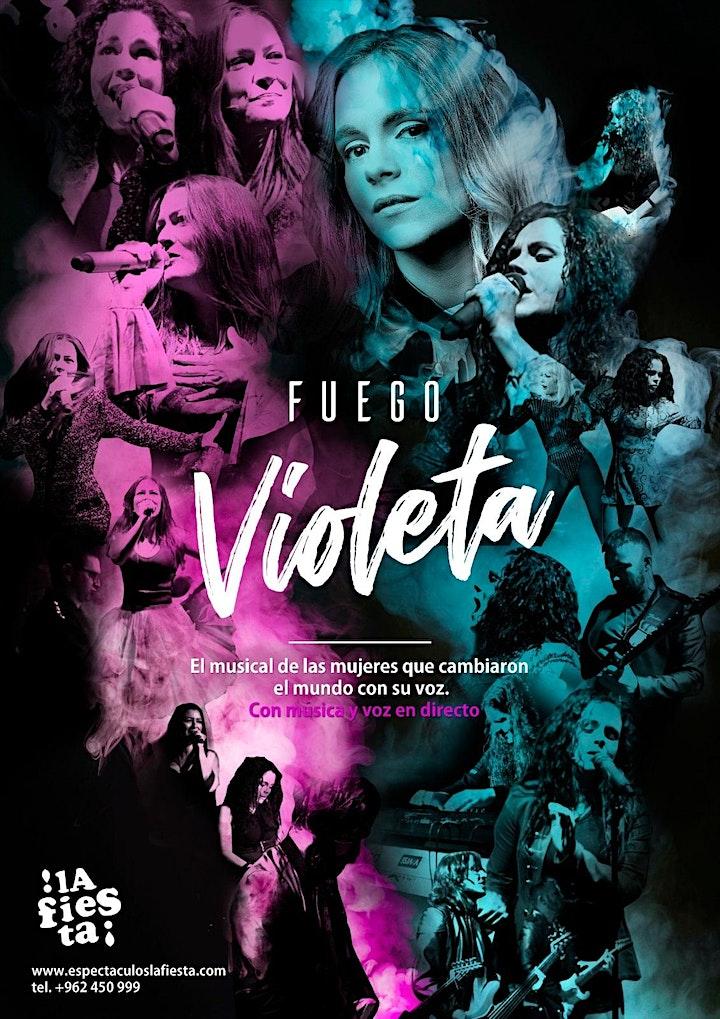 Imagen de Fuego Violeta