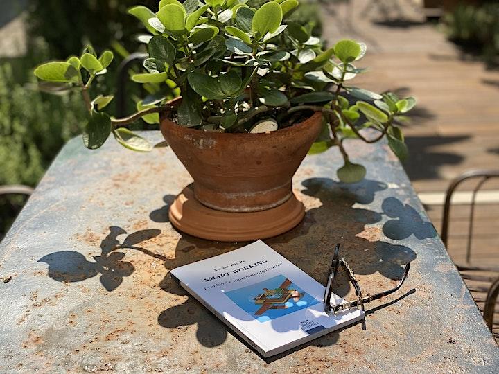 """Immagine Letture in Giardino: """"Smart Working"""" di Andrea Del Re"""