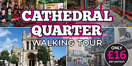 Our Place Walking Tour, The Charm & History of Cathedral Quarter Belfast tickets