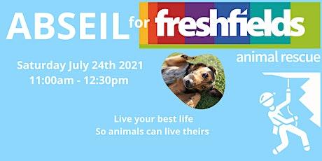 Abseil for Freshfields! tickets