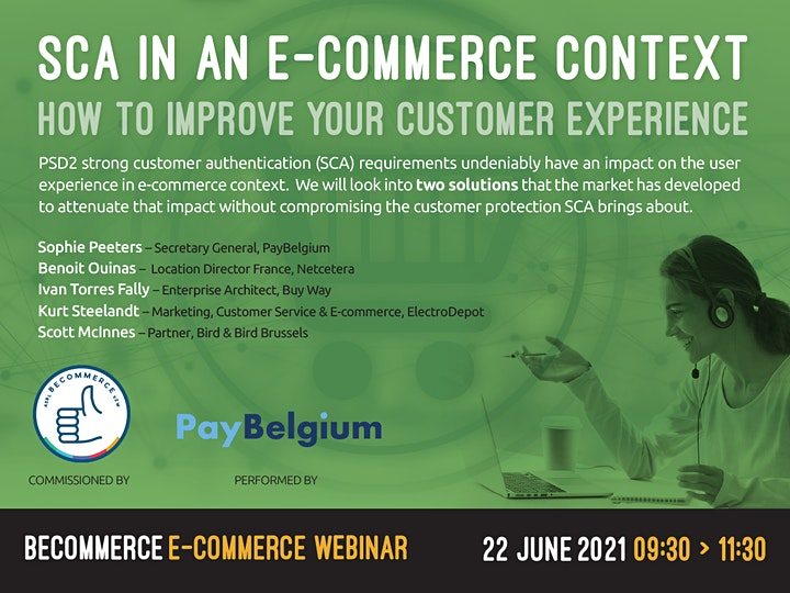 Afbeelding van PayBelgium-SCA in an e-commerce context: how to improve customer experience