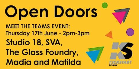 Open Doors - kickstart your arts career in Stroud tickets