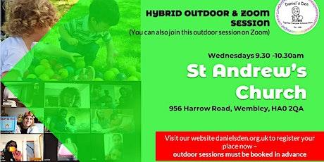 Daniel's Den - OUTDOOR Session @ St Andrew's Church, Sudbury tickets