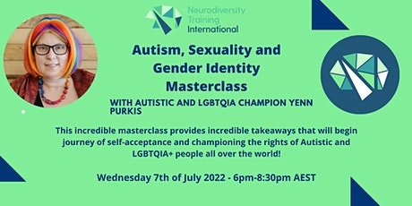 Autism, Sexuality and Gender Identity Masterclass. tickets