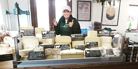 Virtual Cheese Tasting: Traditional British Cheeses (26th June) tickets