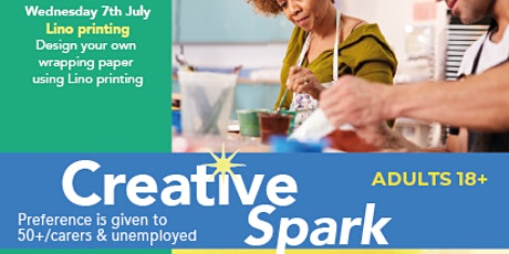 Creative Spark Enfield: LINO PRINTING tickets