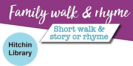 Family Walk & Rhyme - Story Walks tickets