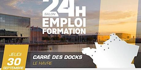24 Heures pour l'Emploi et la Formation - Le Havre 2021 billets