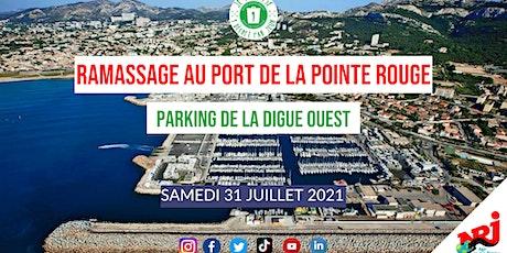 Ramassage au Port de la Pointe Rouge  #LoveTonQuartier billets